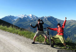 Mountain Biking Chamonix French Alps