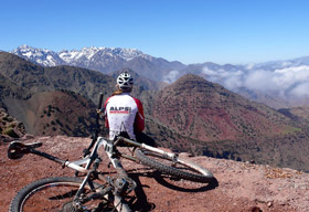 Morocco singletracks in mountain bike holidays