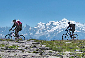 TransAlps Chamonix to Nice alps mountain bike